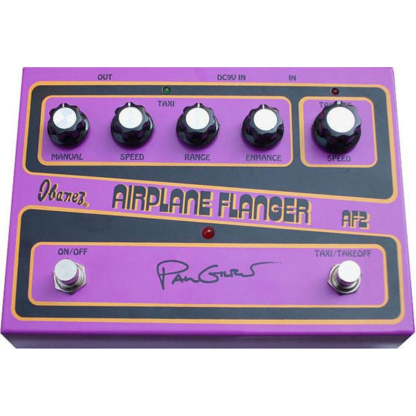Ibanez AF2-U Paul Gilbert Signature Airplane Flanger Guitar Effects Pedal