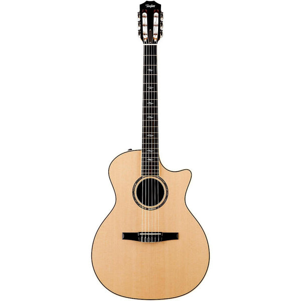 Taylor 814ce-N Nylon Strings Grand Auditorium Electro Acoustic Guitar With Bag- Natural