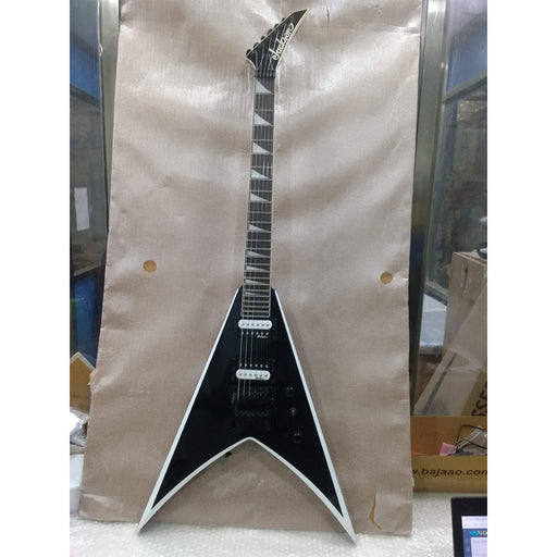 Jackson JS32 King V (Flying V) Electric Guitar - Black - Open Box B Stock