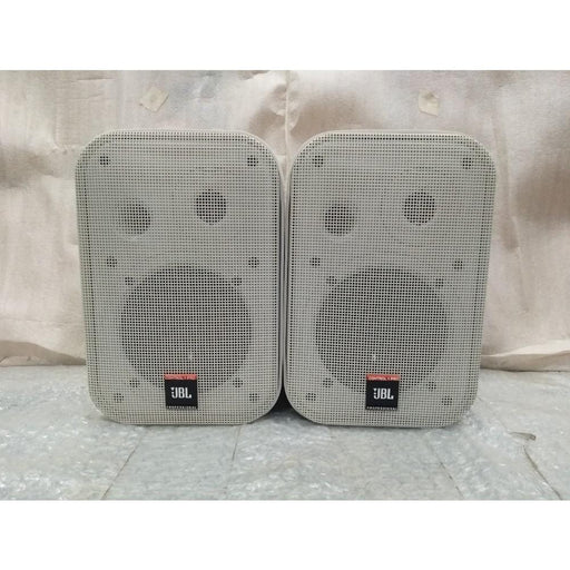 JBL C1PRO Control 1 Pro 150 Watts 2-Way Compact Loudspeaker - Pair - White - Open Box B Stock