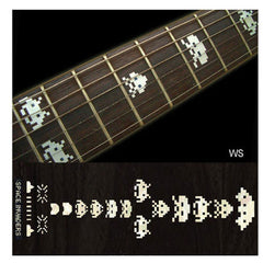 Jockomo Space Invaders Fret Markers