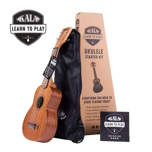 Kala KALA-LTP-S Learn To Play Ukulele Starter Kit with Online Learning & Digital Tuner App