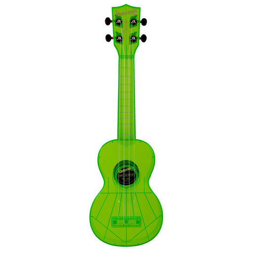 Kala KA-SWF-GN Soprano Waterman Ukulele - Fluorescent Sour Apple Green
