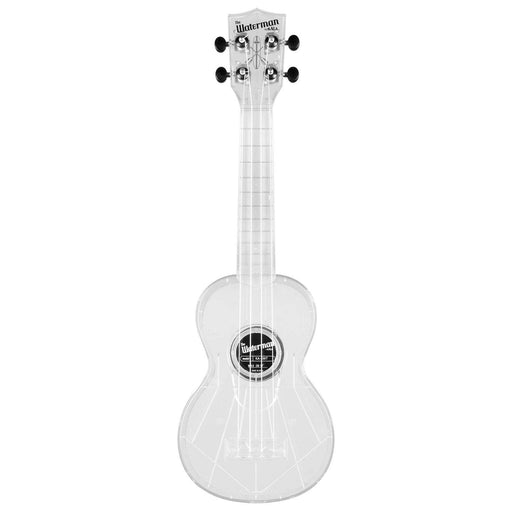 Kala KA-SWT Transparent Ice Soprano Waterman Ukulele