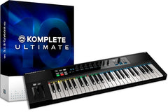 Native Instruments Komplete 10 Ultimate UPG and Kontrol S49 Keyboard Bundle