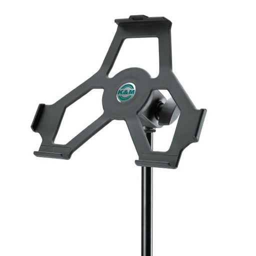 Konig & Meyer 19712 iPad Stand Holder - Black 3/8-inch