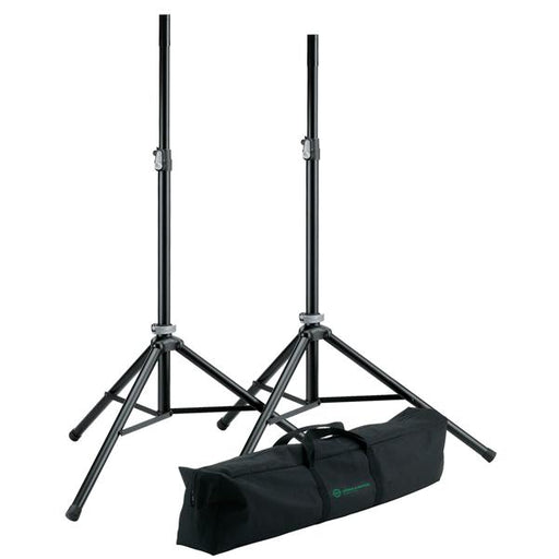 Konig & Meyer 21449 Speaker Stand Package - Black