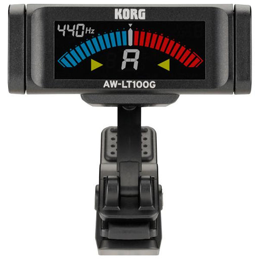 Korg AW-LT100 Clip On Tuner for Guitar and Bass