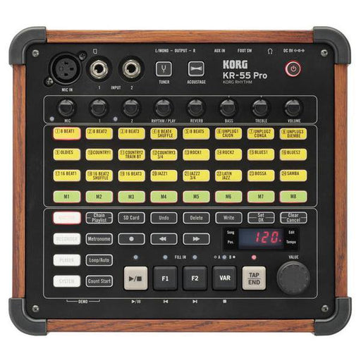 Korg KR-55 Pro Rhythm Digital Synthesizer