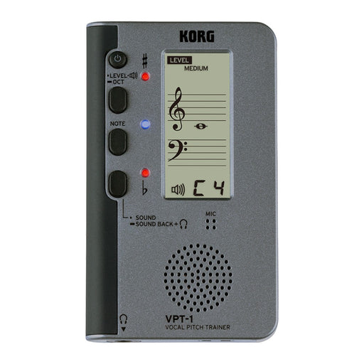 Korg VPT-1 Vocal Pitch Trainer Tuner Metronome