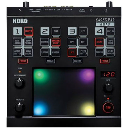 Korg KAOSS Pad Quad Dynamic Effect Sampler