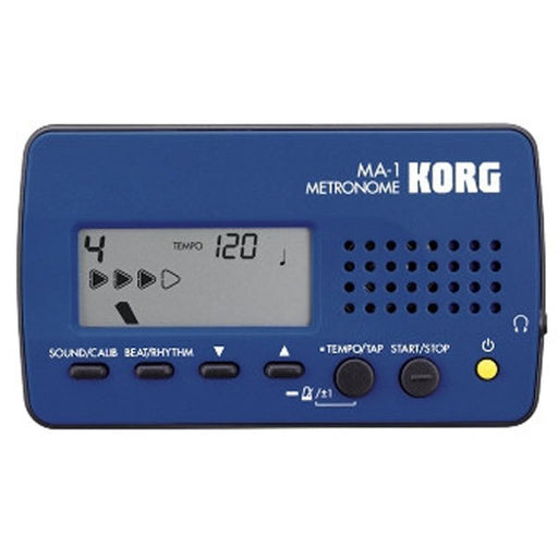 Korg MA-1 Professional Digital Metronome - Blue Black