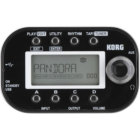 bajaao com buy korg pandora mini pxmini guitar multi effects processor online india musical. Black Bedroom Furniture Sets. Home Design Ideas