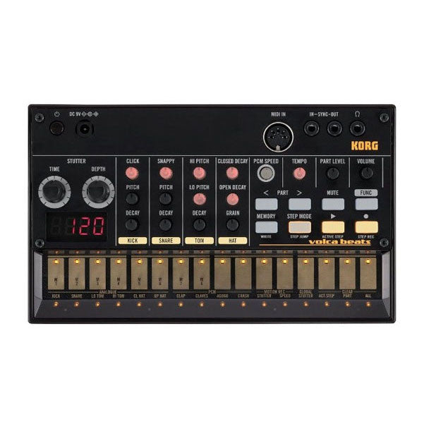 bajaao com buy korg volca beats analog drum machine online india musical instruments shopping. Black Bedroom Furniture Sets. Home Design Ideas