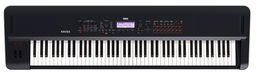 Korg KROSS2 88-Key Keyboard Synthesizer Workstation