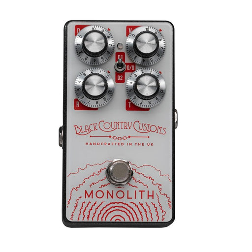 Laney BCC-Monolith Distortion Black Country Customs Guitar Pedal
