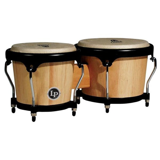 Latin Percussion Aspire LPA601-AW Wood Bongos - Natural Wood