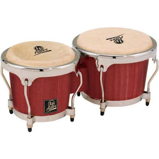 Latin Percussion LPA601 Aspire Series Wood Bongos - Red Wood