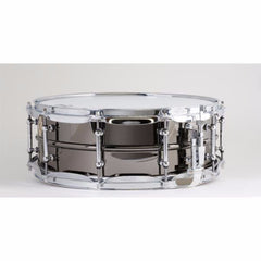 LB416T 5X14 Brass Shell Black Beauty Snare Drum