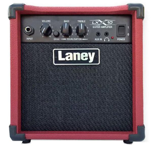 Laney LX10 10W Guitar Combo Amplifier - Red