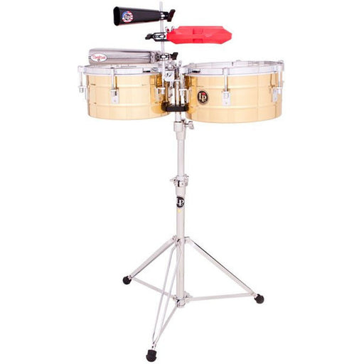 "LP Latin Percussion Timbales Brass 12""(30.48 cm) & 13""(33.02 cm) LP255-B"