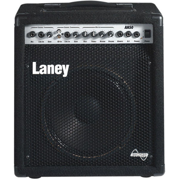 Laney AH50 Audio Hub Guitar Amplifier, 30W Kickback Cabinet