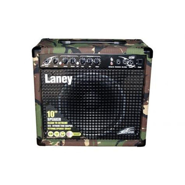 Laney LX35R Camoflage Guitar Amplifer with Reverb