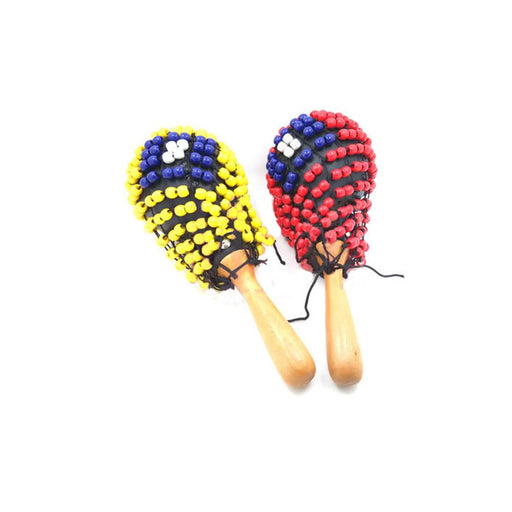 Pluto MA3B Soft Plastic Maracas with Beads