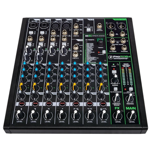 Mackie Profx 10v3 10 Channel Professional Effect Mixer with USB