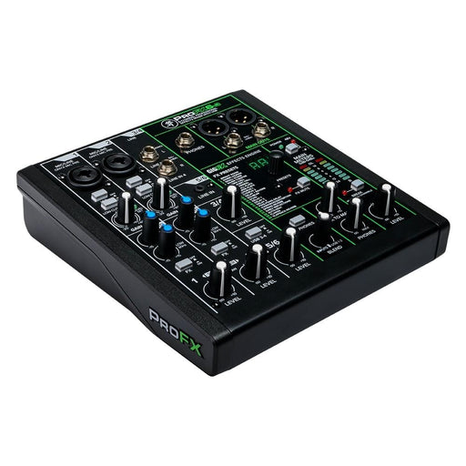 Mackie Profx-6v3 6 Channel Mixer with 2 Stereo Input