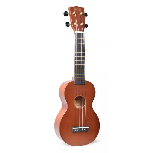 Mahalo Rainbow Series Learn 2 Play Soprano Ukulele Pack- Transparent Brown