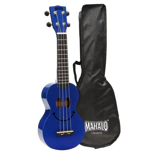 Mahalo U-Smile Series Soprano Ukulele With Bag