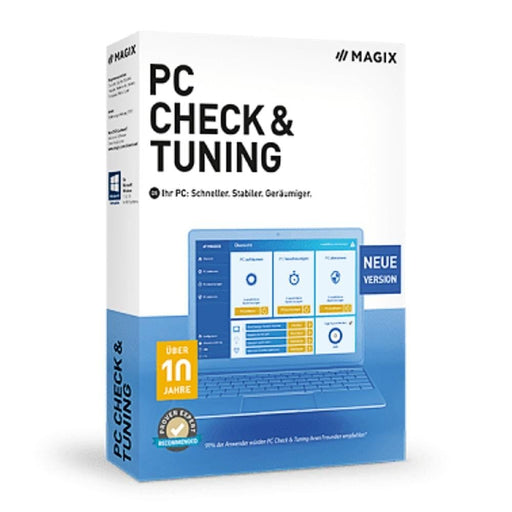 Magix PC Check & Tuning 2019 PC Optimization Tool Downloadable Software & Plug-in