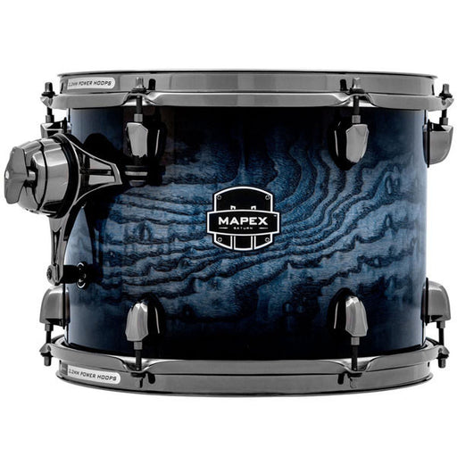 "Mapex Saturn MH Exotic 10"" x 07"" Tom - Deep Water Ash Burl"