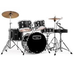 Mapex TNM5254TCUDK Tornado 5 Pcs Drum Set - Black