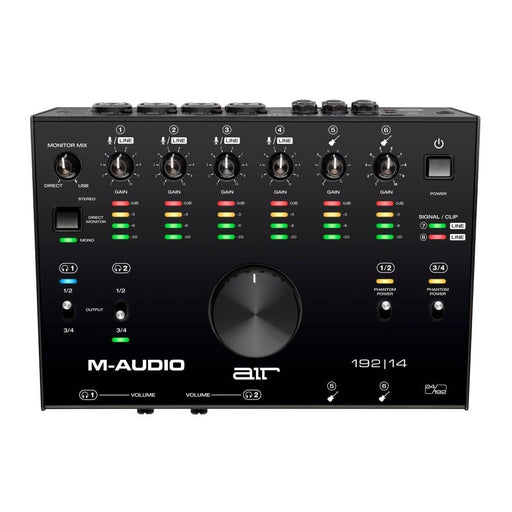M-Audio Air 192|14 8-In/4-Out 24/192 USB Audio Interface-1