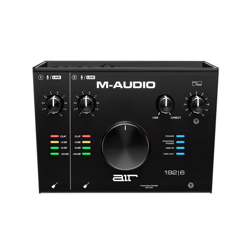 M-Audio Air 192|6 2-In/2-Out 24/192 USB Audio MIDI Interface