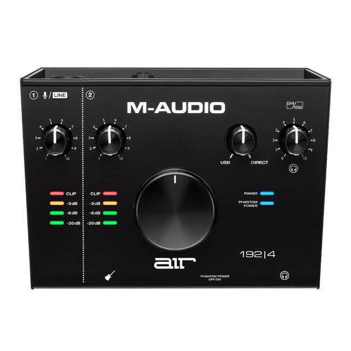 M-Audio AIR 192|4 2-In/2-Out 24/192 USB Audio Interface