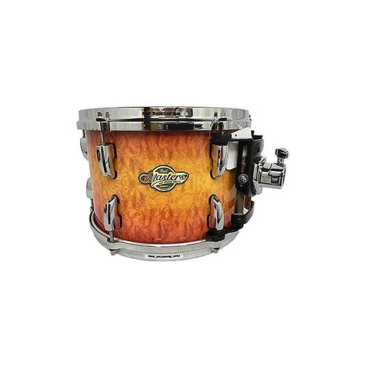 Pearl MCX 13x10 Tom w/ Chrome Hardware - Quilted Bubinga Sunburst