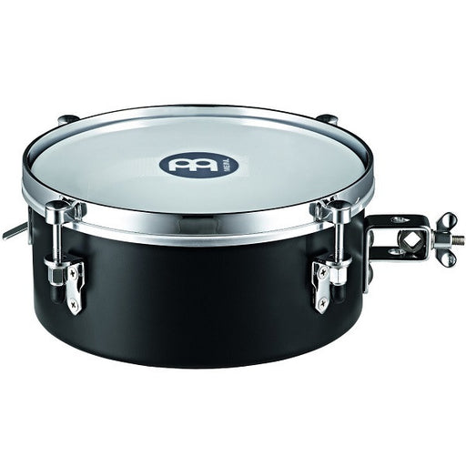 Meinl Percussion MDST10BK 10-Inch Steel Drummer Snare Timbale Black