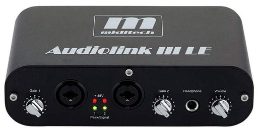 Miditech Audiolink III Limited Edition USB Audio Interface - Black