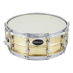 Millenium SD-137 14 x 5.5-inch Power Brass Snare Drum