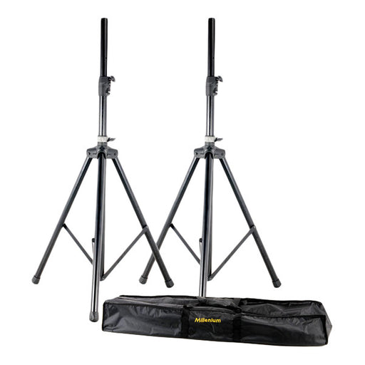 Millenium BS-2222 Professional Speaker Stands Set - Black