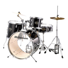 Millenium MX120 Starter Drum Set - Black