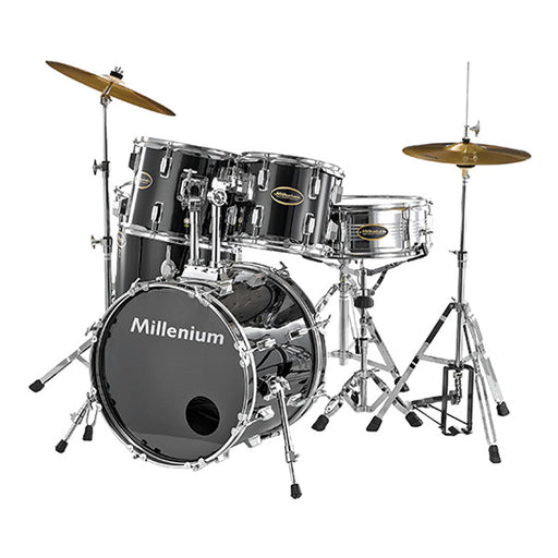 Millenium MX218BX Combo Complete Drum Set - Black