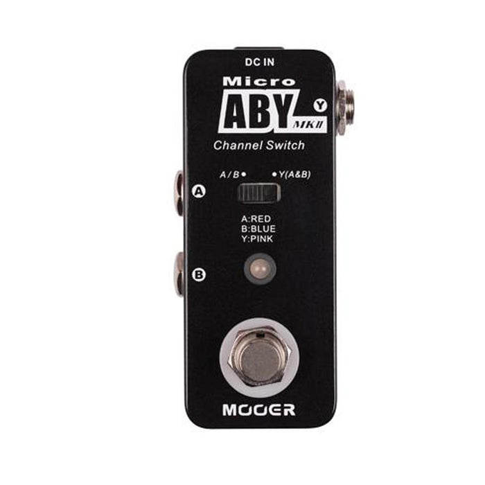 ABYMK2 Mooer Micro Compact /'Micro ABY MK2/' Channel Switch Pedal