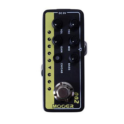 Mooer 002-UK Gold 900 Delay Reverb Effects Pre Amp