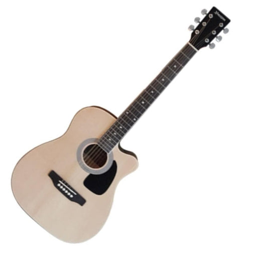 "Morrison 38"" Cutaway Acoustic Guitar – Natural"
