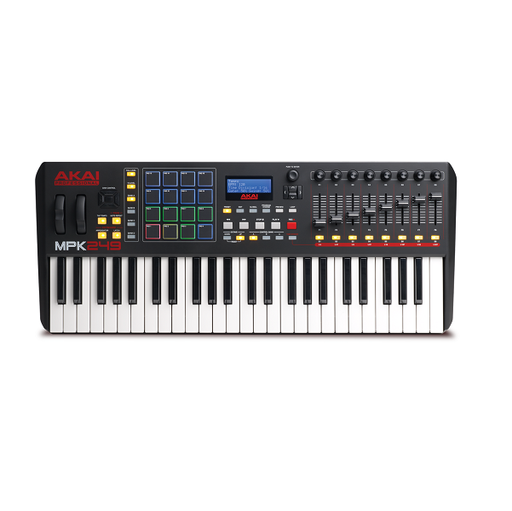 Akai Professional MPK249 USB/iOS MIDI Controller Keyboard With MPC Beats Software Pack