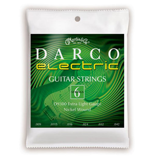 Martin D9300 Darco Nickel Wound Electric Guitar Strings Extra Light - 9-42